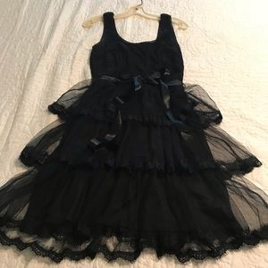 Adorable retro tiered dress by ModCloth